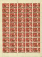 Vietnam 1945 - Feuille Complète Michel Nº20 - Emission Sans Gomme (DE) DC1237 - Vietnam
