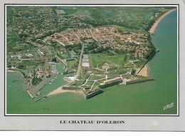 Ile D Oleron  Le Chateau D Oleron  Le Port Ostreicole Et La Citadelle Vue Aerienne - Ile D'Oléron