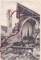 59 - ...Herlies Inneres Von Kirche  Carte Photo Allemande - Autres Communes