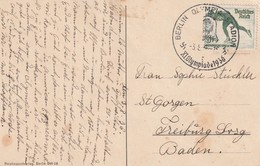 CARTE - DEUTSCHES REICH - Berlin Le 03.08.1936 - J.O De BERLIN - Duitsland
