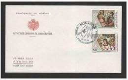 MONACO - 20 10 1988  FDC CROCE ROSSA - Croix-Rouge