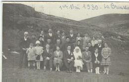Lozere : La Brouse, Famille Plagnes, 1er Mai 1930 - France