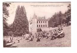 43 Chateau De Montbarnier Près Yssingeaux Colonie De Vacances De La Ville De Saint Etienne - Autres Communes