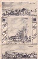59 - ... Frélinghien Spinnerei Brauerei Brasserie Zeichnung   Carte Allemande - Autres Communes