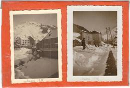 Lozere : Fraycinet De Lozere, Sous La Neige ( 2 Photos), En 1935 - France