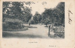 CPA - France - (62) Pas De Calais - Frévent - Le Jardin Public - France