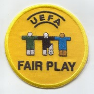 FOOTBALL / SOCCER / FUTBOL / CALCIO - UEFA FAIR PLAY, Sport Patch, D 80 Mm - Scudetti In Tela