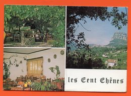 PL/21  SAINT JEANNET RESTAURANT CAMPING LES CENT CHENES - Publicité