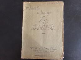 """Acte Notarié Du 6 Août 1898 """" Vente """" Notaire Couteau à Chateauneuf-sur-Loire - Vieux Papiers"""