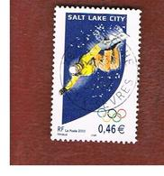 FRANCIA (FRANCE) - SG  3799  - 2002  WINTER OLYMPIC GAMES: SNOWBOARDER   - USED - Francia