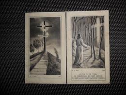 Doodsprentje ( G 294 ) De Bruycker / Van Waelvelde  -  Schellebelle  -  Kalken   -  1948 - Décès
