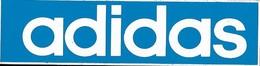 Autocollant - ADIDAS - 11,5 X 3 Cm - - Stickers