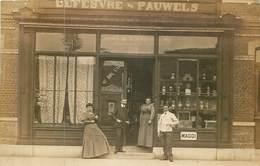 HAZEBROUK  épicerie Veuve Lefevre Pauwels ( Bottin 1902) - Carte Photo - - Hazebrouck