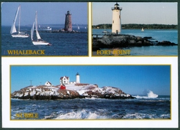 USA  -  NEW HAMPSHIRE  LIGHTHOUSES  - CIRCULATED - Lighthouses