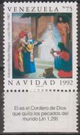 Venezuela 1992 MiN°2758  1v MNH - Venezuela
