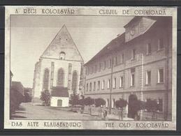 Romania, Cluj, Kolozsvar,  Reformed Church And College 1900,  Reprint. - Roumanie