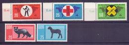 Duitsland - 1963 - Yv.  ** 649/51+652/53 ** - [6] République Démocratique