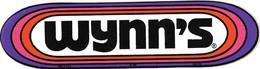 Autocollant - Automobiles - WYNN'S - 17,5 X 4,5 Cm - - Stickers