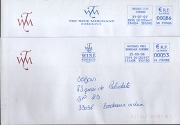 "EMA Bleu Artigues Près Bordeaux Et TressesCCT1 "" The Wine Merchant - EMA (Print Machine)"