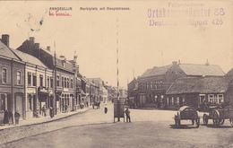 59 - ... ANNOEULLIN CACHET ORTSKOMMANDANTUR 88 Marktplatz   Carte Allemande - Autres Communes