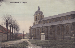 59 - ... SIN-le-NOBLE Eglise Couleur    Carte Allemande - Autres Communes