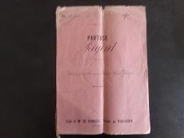 """Acte Notarié Du 4 Juin 1871 """" Partage """" Notaire Verneuil Au Pouliguen - Vieux Papiers"""