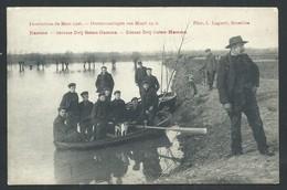 +++ CPA - HAMME - Inondations De Mars 1906 - Service Drij Goten - Hamme  // - Hamme