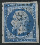 France (1860) N 14A (o) - 1853-1860 Napoleon III