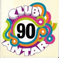 Autocollant - Automobiles - CLUB 90 ANTAR - 10 X 10 Cm - - Stickers