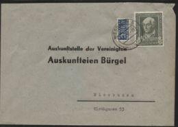 Bund - MiNr. 118 Als EF Auf Ortsbrief, Gelaufen WIESBADEN 1.2.1950 - Briefe U. Dokumente