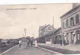 59 - ...Bavay-Louvignies La Gare    Carte Allemande KLASSE ! - Autres Communes