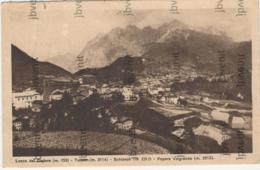 LOZZO Del CADORE  (BELLUNO) - Tudaio - Schiavon - Popera Valgrande - 1931 - Belluno