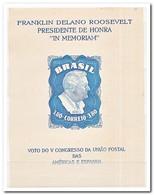 Brazilië 1949, Postfris MNH, President Franklin D. Roosevelt - Brazilië