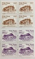 2 Blocks 4 Of Vietnam Viet Nam MNH Perf REPRINT Stamps 2015 - RARE - Vietnam