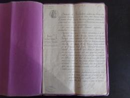 """Acte Notarié Du 25 Mai 1876 """" Vente """" Notaire Trebeden Au Croisic - Vieux Papiers"""