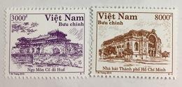 2 Vietnam Viet Nam MNH Perf REPRINT Stamps 2015 - RARE - Viêt-Nam