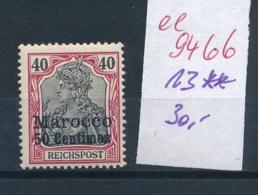 D.-Post Marokko Nr. 30 **   (ee9466  ) Siehe Scan - Deutsche Post In Marokko