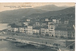 CPA - France - (66) Pyrénées Orientales - Port-vendres - Rue Du Commerce - Port Vendres
