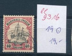 Marshall Inseln Nr. 19 O   (ee9316  ) Siehe Scan - Kolonie: Marshall-Inseln