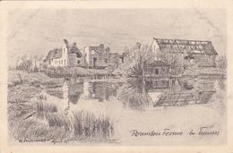 59 - ...Fournes Rosembois-Ferme Carte Dessinée   Carte Allemande - Autres Communes