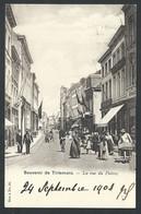 +++ CPA - TIENEN - Souvenir De TIRLEMONT - La Rue Du Poivre - Carte Animée !  // - Tienen