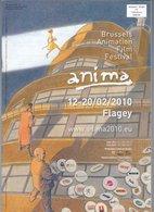 Schuiten Anima 12-20/02/2010 Flagey Brussels - Livres, BD, Revues
