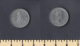 Gibraltar 5 Pence 1992 - Gibraltar