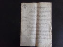 """Acte Notarié Du 12 Février 1892 """" Obligation """" Notaire Trebeden Au Croisic - Vieux Papiers"""