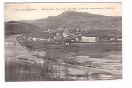 43 Retournac La Loire Le Vert Usine Descours Et Genthon Cachet Convoyeur Langeac à Firminy - Retournac