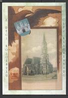 Romania, Cluj, Kolozsvar St. Michael Church, 1900,  Reprint. - Roumanie