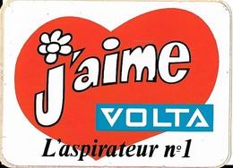 Autocollant - J'aime VOLTA L'aspirateur N° 1 - 10 X 7 Cm - - Stickers