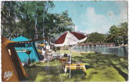 40. Pf. MIMIZAN. Le Camping Au Fond La Passerelle. 7361 - Mimizan