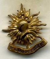 Insigne Du 2é Rgt De Cuirassier__ - Armée De Terre