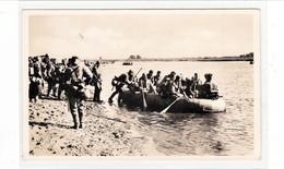 Propaganda Karte , Flussüberquerung In Schlauchbooten, Feldpost WIEN - KLOSTERNEUBURG Nach Leonstein ( Ostmark ) - Weltkrieg 1939-45